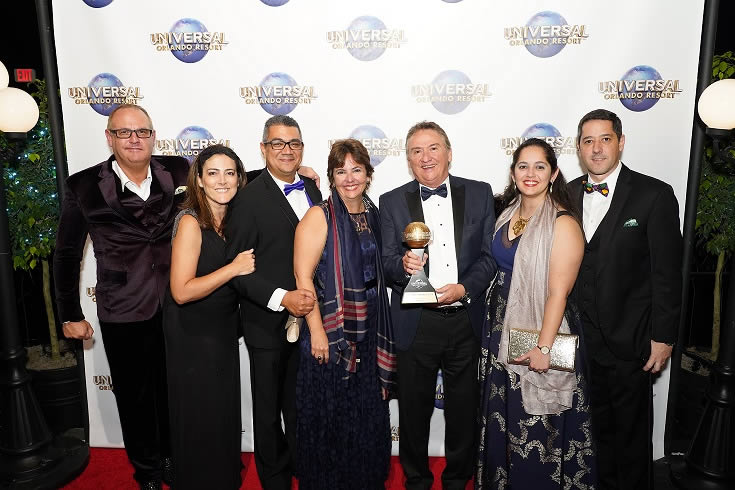 3º Universal Partner Awards Terceira, Universal Orlando Resort