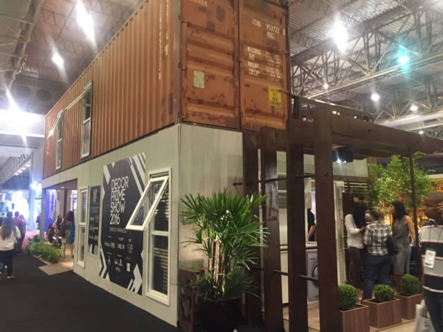 Casa Container - Decor Prime Show - Feicon Batimat Nordeste