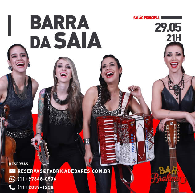 Sertanejo - Barra da Saia - Bar Brahma