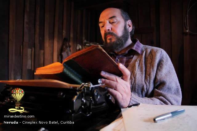 Neruda estreia no Cineplex Novo Batel nesta semana