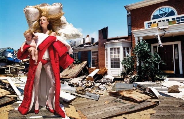 Viktor&Rolf, Bedtime Story, ready-to-wear collection ©David LaChapelle Studio