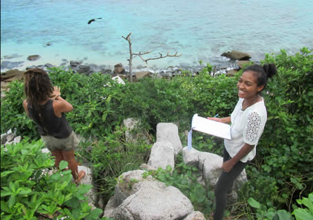 Conservation Boot Camp - Ilha Cousin Island - Seychelles
