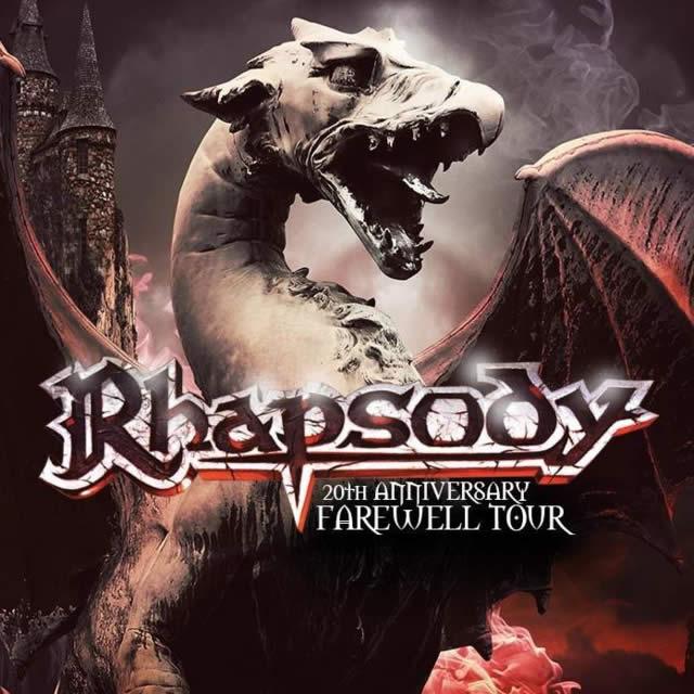 Rhapsody se apresenta em Curitiba com sua formação clássica