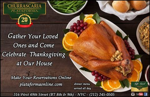 Churrascaria Plataforma - Thanksgiving
