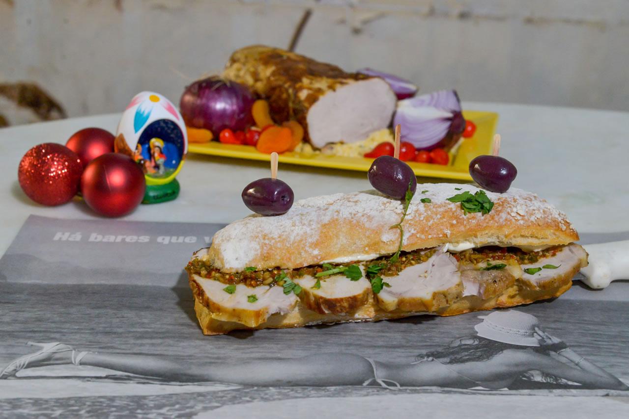 Sanduíches de Natal