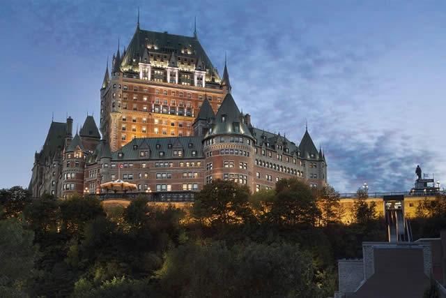 Fairmont Le Chateau Frontenac - Quebec, Canadá - Hospedagem - Castelo - Castle - Turismo de Luxo - Luxury Travel - Castles - Castillo