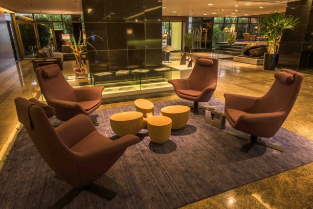Novo Lobby do Hotel Gran Marquise tem a marca da brasilidade e luxo