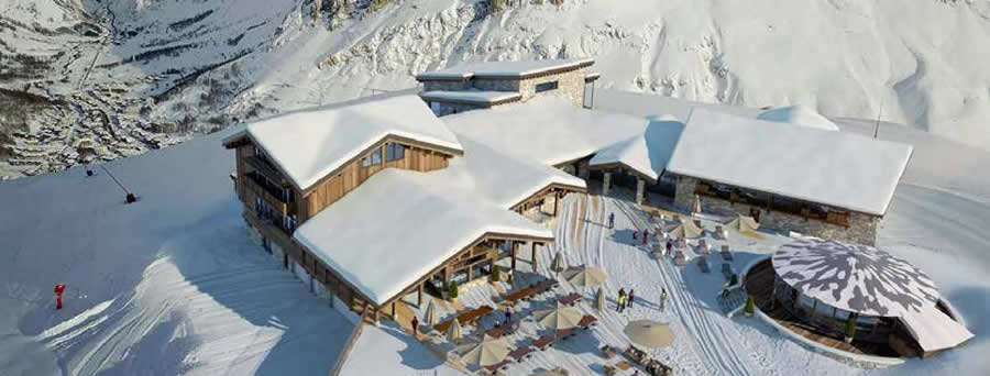 Le Refuge de Solaise - Val d'Isère - Alpes Franceses - French Alps