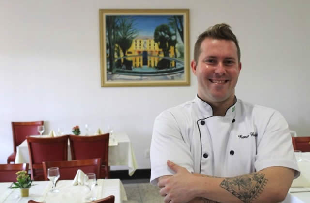 Chef Ramon Bortoletto - Hotel Paradies - Jarinu/SP