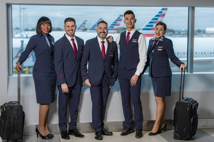 American Airlines Lands End Uniforme