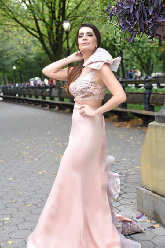 Claudia Métne S/S 2019 New York Fashion Week