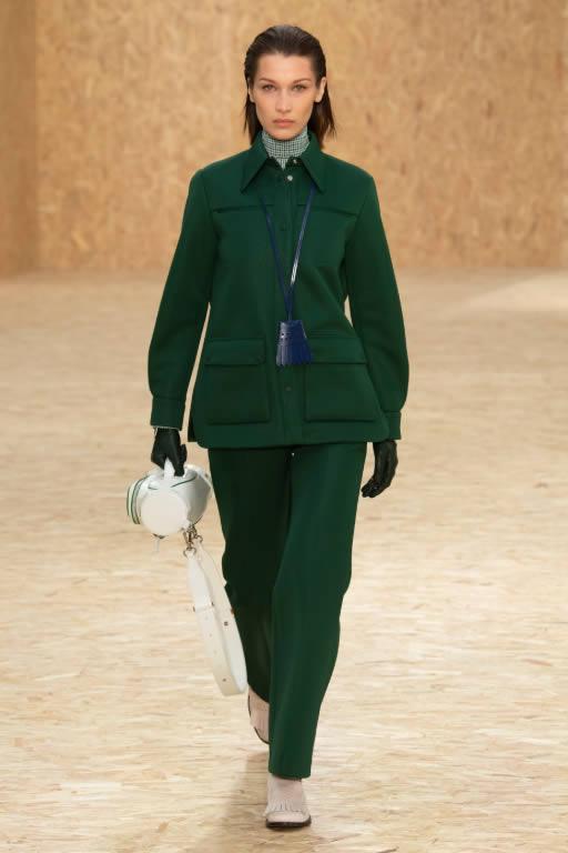 Lacoste desfila nova coleção de outono inverno no fashion week de Paris