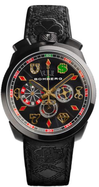 Bomberg traz ao Brasil relógio para amantes do pôquer
