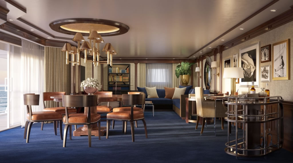 Oceania Cruises - Owners Suites - Ralph Lauren Home - Trevor R. Howells