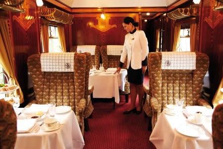 Trem de Luxo na Inglaterra