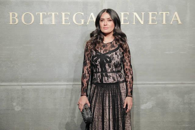Salma Hayek Pinault - Bottega Veneta - Moda - Luxo - Fashion - Estilo - Nova York - Style