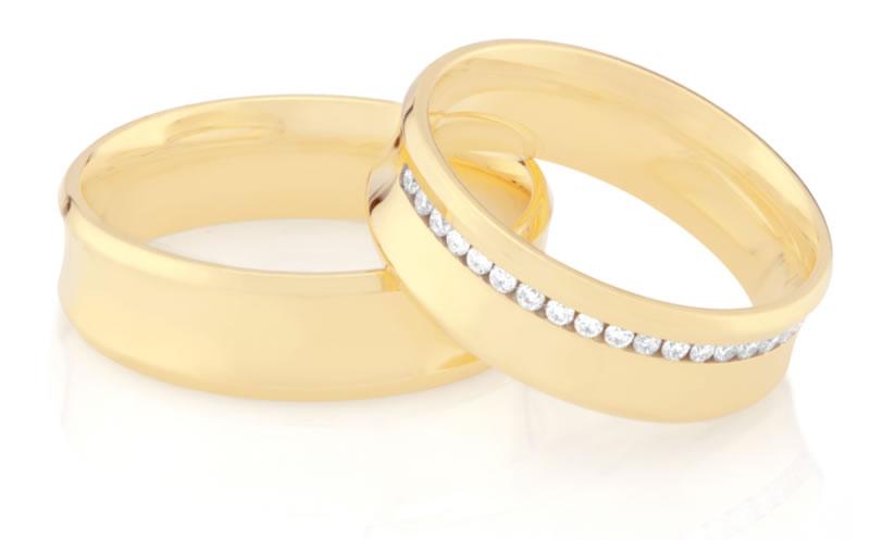 Aliança Dreams -Monte Carlo Joalheria - Joias - Noiva - Casamento