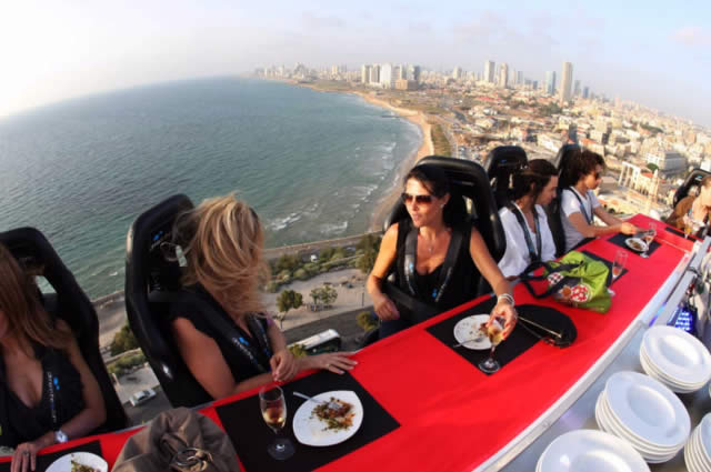 Dinner in the Sky - Puerto Vallarta