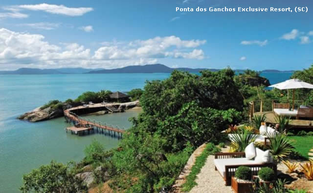Ponta dos Ganchos Exclusive Resort - Haute Grandeur Global Hotel Award = Turismo de Luxo - Hotelaria - Santa Catarina - Resort
