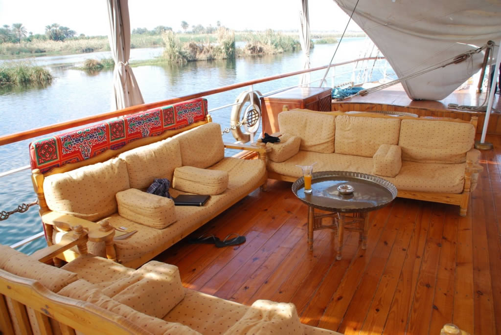 Princess Donia - Hotel Veleiro  Egito - Egypt - Sailboat